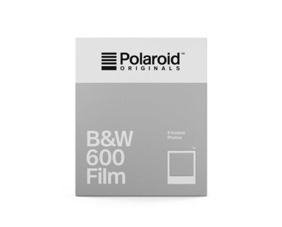 Polaroid Originals 600 Black and White 640 ASA, 8 sheets