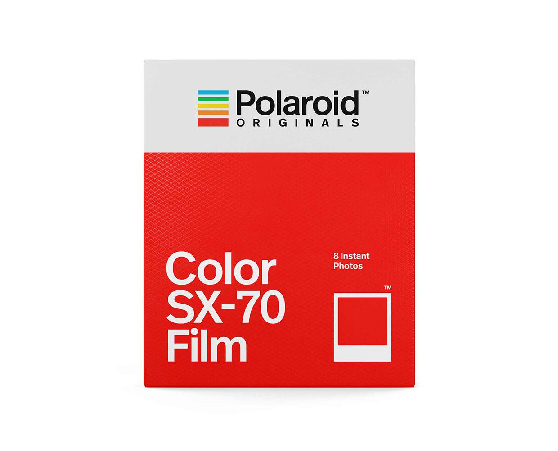 Polaroid Originals SX-70 COLOR, 8 Aufn. für Polaroid SX 70 Kamera, 160 ASA, 8 Aufnahmen
