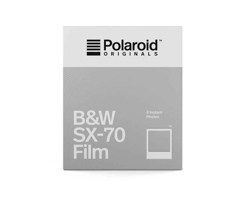 Polaroid Originals SX-70 Schwarz-Weiss, 8 Aufnahmen