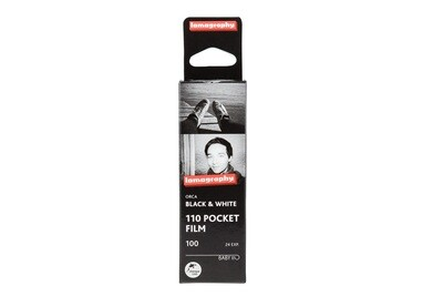 Lomography Orca Black and White Negative Film (110 Cartridge, 24 Exposures)