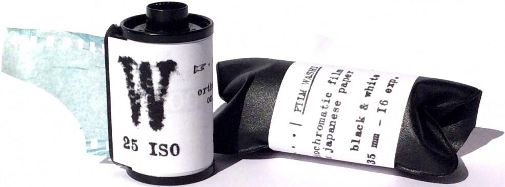 """WASHI """"W"""" 25 135-16 Schwarz-Weiss Ortho Negativ Film"""