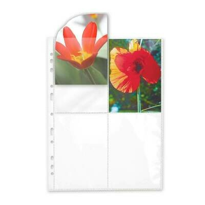 Transparent sleeves for Polaroid 600/SX70 - 25 sheets