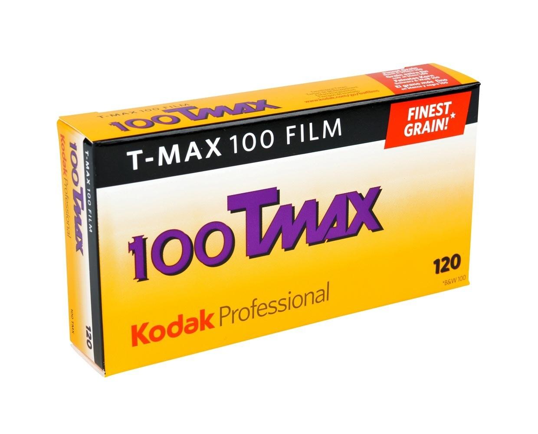 Kodak T-MAX 100 Format 120 Rollfilm - 5er Pack  MHD 02/2021