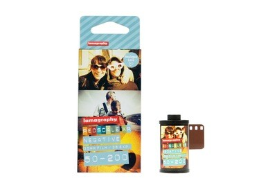 Lomography Lobster Redscale Color Negative Film 3x 135-36 date 04/2020