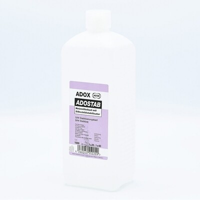 ADOX Adostab Wetting agent with image stabilizer. (Agfa Sistan)