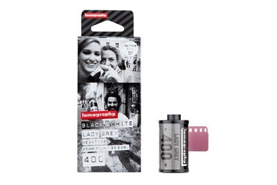 Lomography Lady Grey 400 ISO 135-36 3 Pack date 04/2020