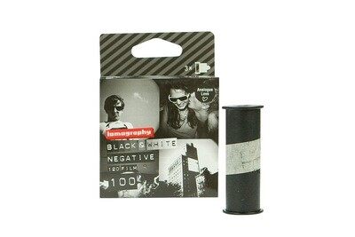 LomographyEarl Grey 100 Black and White Negative Film (120 Roll Film, 3 Pack) date 04/2020