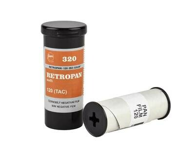 Foma Retropan 320 Soft format 120 rollfilm date 05/2021