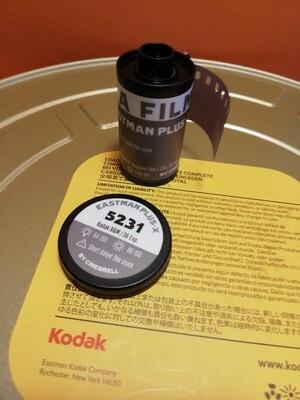 Kodak 5231 Black & White Film 35mm Plus-X ISO 80