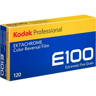Kodak Professional Ektachrome E100 Color Transparency Film format 120 5-er Pack expired 11/2021