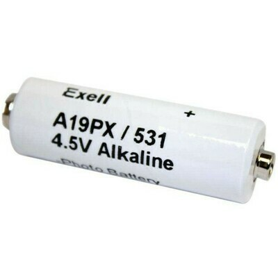 Exell Battery A19PX 4.5V Alkaline Battery for Polaroid Camera