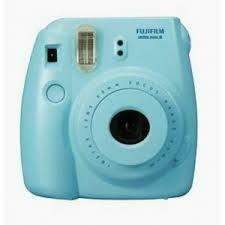 Fuji Instax Mini 8 Camera, Analog - Blue