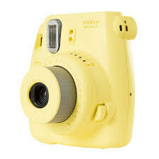Fuji Instax Mini 8 Camera, Analog - Yellow