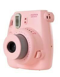Fuji Instax Mini 8 Camera, Analog - Pink