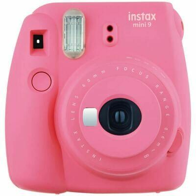 Fujifilm instax mini 9 Instant Film Camera (Flamingo Pink)