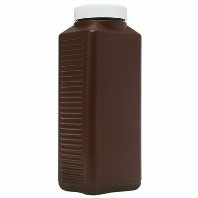 Peva chemical storage bottle brown 1,000ml