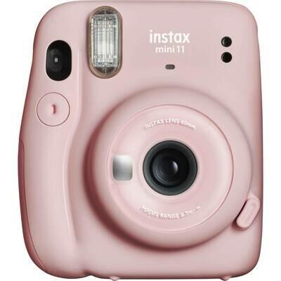 FUJIFILM INSTAX Mini 11 Instant Film Camera (Blush Pink)