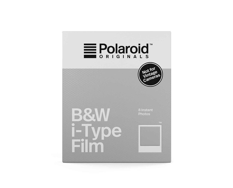 Polaroid Originals 600 schwarz-weiss, für Polaroid I-Type Kamera (8 Aufnahmen)