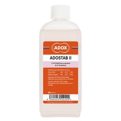 ADOX Adostab Wetting agent with image stabilizer. (Agfa Sistan) 0.5 liter