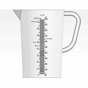 CINESTILL TCS measuring cup 1000 ml