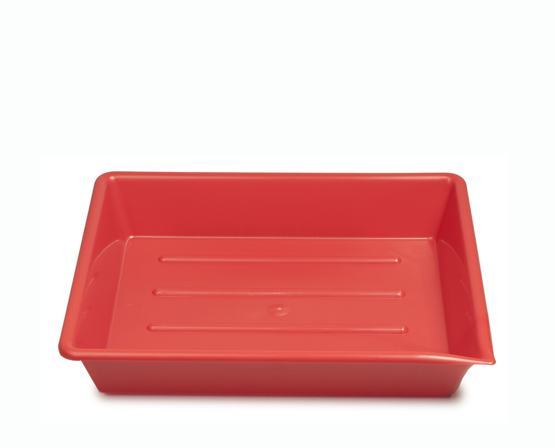 "Kaiser lab trays 5x7"" (13x18cm) red"