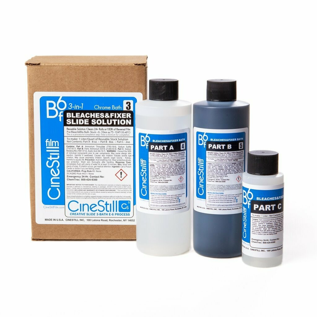 """CINESTILL Bf6 """"Bleach Bath and Fixer"""" 3-in-1 (24+ films) for preparation of 2000 ml -available from approx. 04.08.2020"""