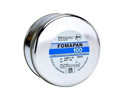 Fomapan 100 Classic 35mm x 30,5meter