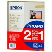 Epson Premium Glossy Photo Paper 255g/m2 Format A4 2 x Packs of 15 Sheets C13S042155