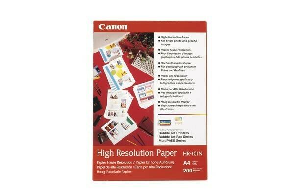Canon HR-101 N A 4, 50 Blatt Fotopapier 106 g (1033A002)