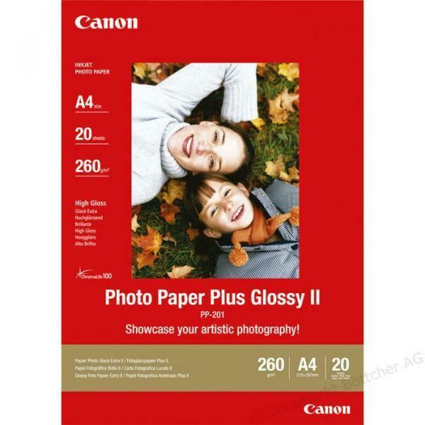 Canon Photo Paper Plus PP-201 A4 (2311B019) - 20 Blatt