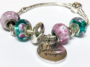 Lilac Dream - European Charm Bracelet