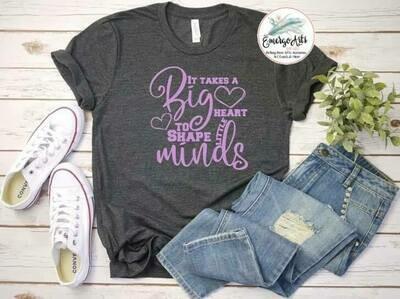 Big Heart Little Minds Tee