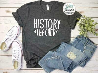 History Teacher Tee