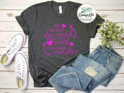 She Became a Counselor Tee