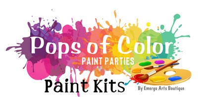 Pops of Color Paint - Take Home Kits