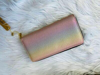 Pastel Rainbow Wallet