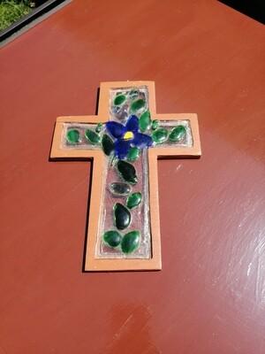 Cruz de Vidrio Horneado