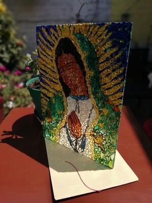 Vitromosaico de la VIrgen de Guadalupe