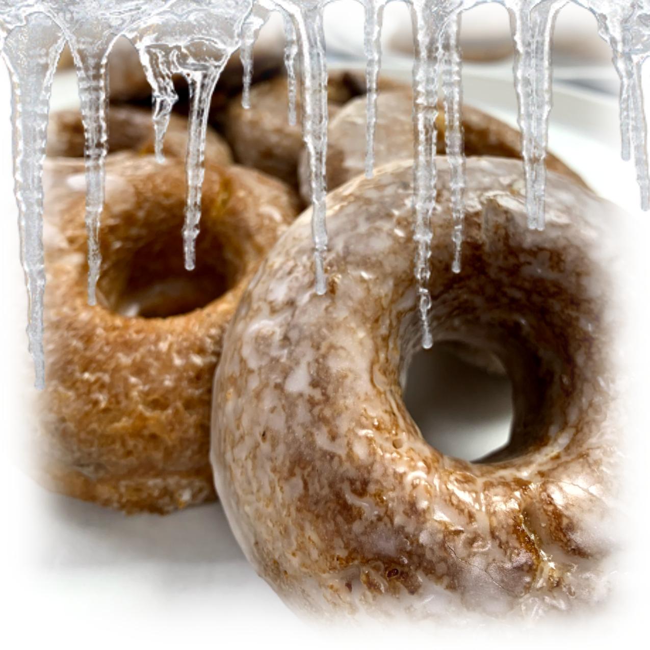 Frozen Pumpkin Cake Donuts (Individual)