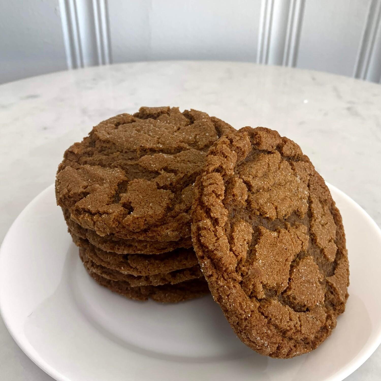 Ginger Molasses Cookies (Half Dozen)