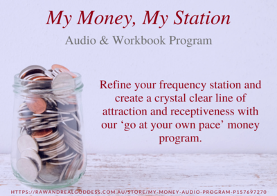 My Money; Audio Program