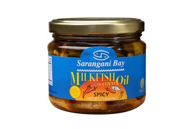 Sarangani Bay Milkfish in Oil (Spicy - 10oz)