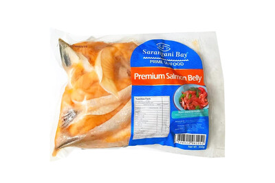 Sarangani Bay Salmon Belly Strips (450-500g)