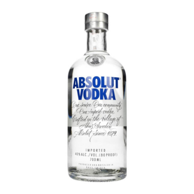 Absolut Blue Vodka (700mL)