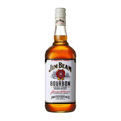 Jim Beam White Label Bourbon (750mL)