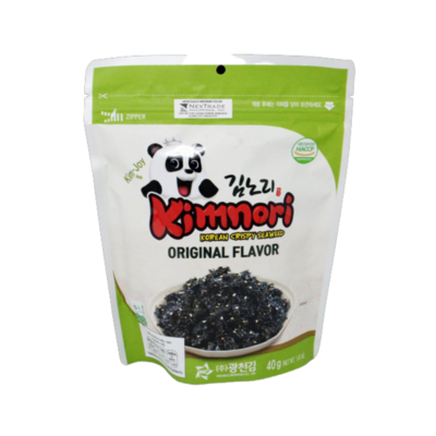 Korean Crispy Seaweed Original Flavor (40g)