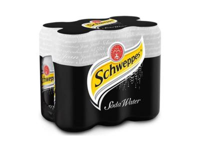 Schweppes Soda Water by 6