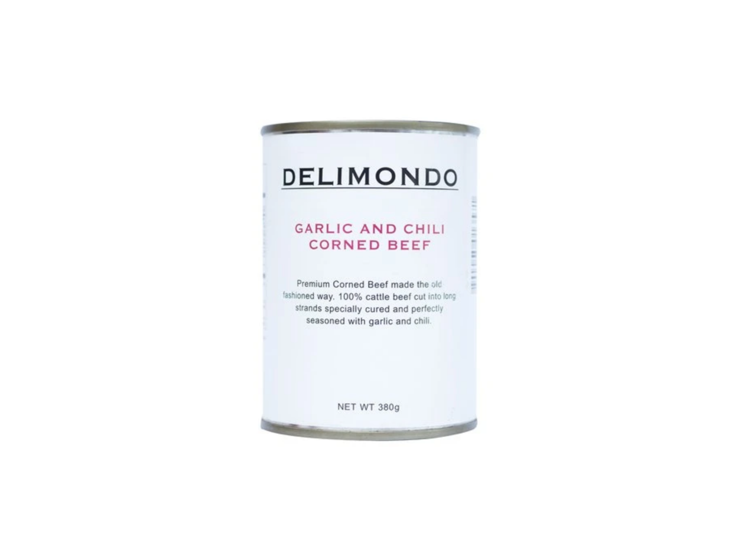 Delimondo Garlic & Chili Corned Beef (380g)