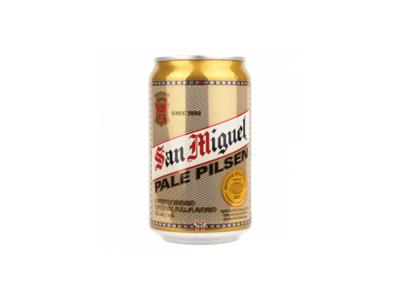San Miguel Pale Pilsen by 6