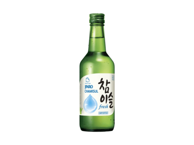 Jinro Chamisul Fresh Soju (360mL)